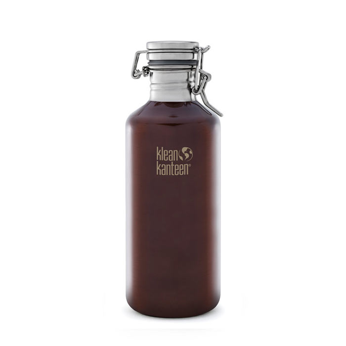 Láhev KLEAN KANTEEN Growler 1182 ml Dark Amber