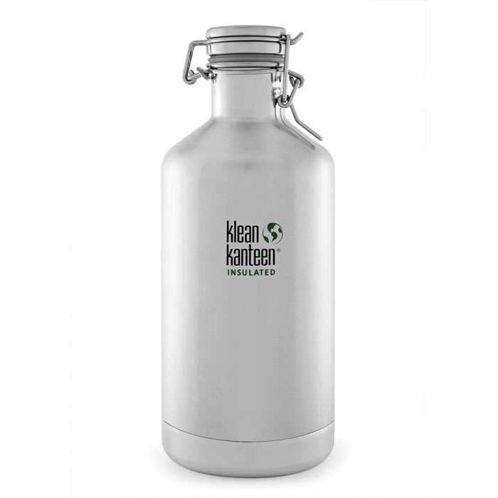 Termoska KLEAN KANTEEN Vacuum Insulated Growler 1900 ml - nerezová