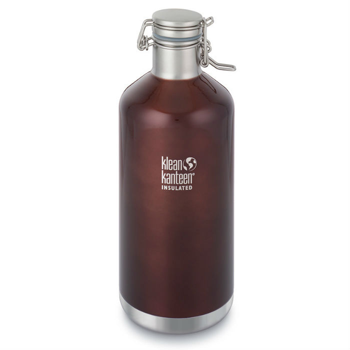Termoska KLEAN KANTEEN Vacuum Insulated Growler 1900 ml - Dark amber