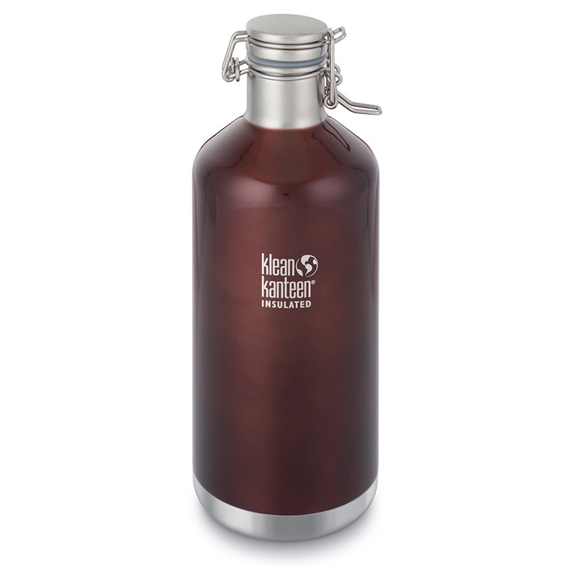 Láhev KLEAN KANTEEN Growler 1900 ml Dark Amber